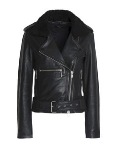 Muubaa Versace Designer Italian Leather Jacket