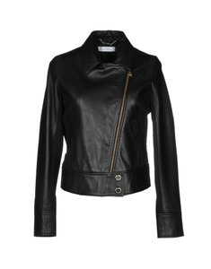 Versace Collection Designer Italian Leather Jacket