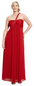 Xscape Prom Beaded One Shoulder Dress