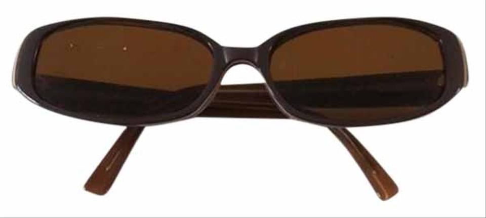 62d171ab96 Anne Klein Brown   Tan Ak5120 Sunglasses - Tradesy