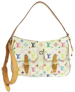 Louis Vuitton Bloomsbury Odeon Duomo Bosphore Multicolore WHITE Messenger Bag