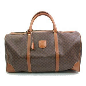 Celine Keepall Boston Duffle Brown Travel Bag
