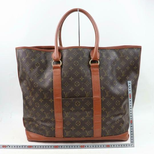 Louis Vuitton Neverfull Luco Sac Shopping Extra Large Xl Tote in Brown Image 4