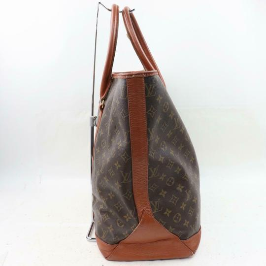 Louis Vuitton Neverfull Luco Sac Shopping Extra Large Xl Tote in Brown Image 6