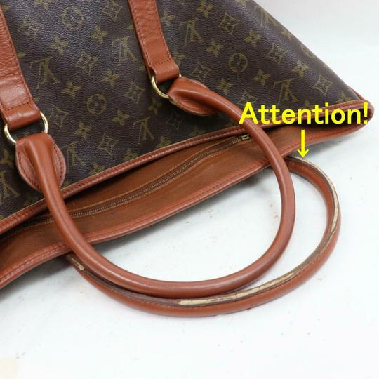 Louis Vuitton Neverfull Luco Sac Shopping Extra Large Xl Tote in Brown Image 7