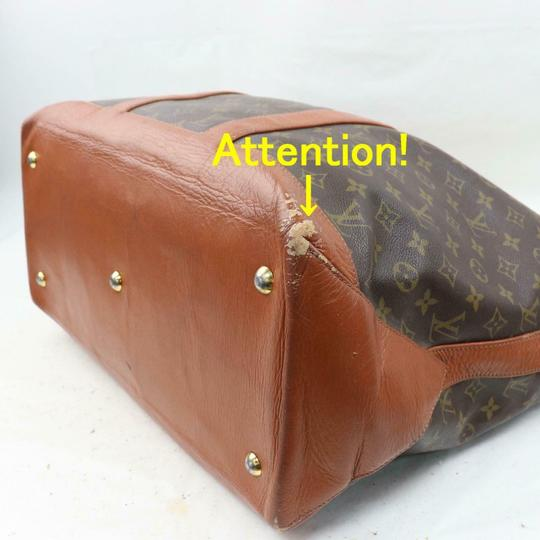 Louis Vuitton Neverfull Luco Sac Shopping Extra Large Xl Tote in Brown Image 8