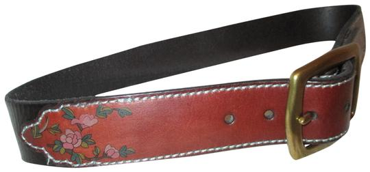 Preload https://img-static.tradesy.com/item/25403819/lucky-brand-brown-and-black-painted-floral-leather-belt-0-1-540-540.jpg