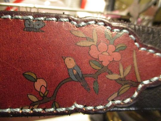 Lucky Brand painted floral leather Image 10