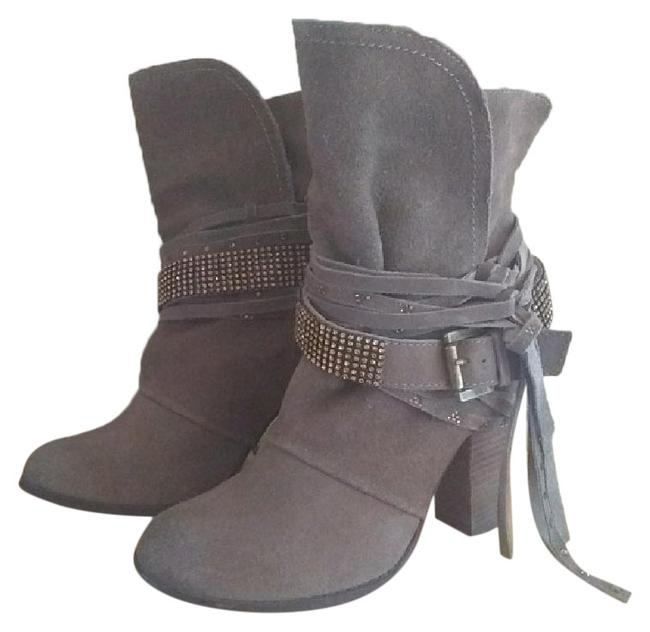 "Naughty Monkey Taupe ""Santa Anna"" Boots/Booties Size US 7.5 Regular (M, B) Naughty Monkey Taupe ""Santa Anna"" Boots/Booties Size US 7.5 Regular (M, B) Image 1"