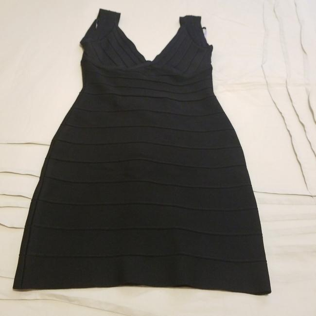 Preload https://item5.tradesy.com/images/herve-leger-black-mid-length-night-out-dress-size-4-s-25403854-0-0.jpg?width=400&height=650