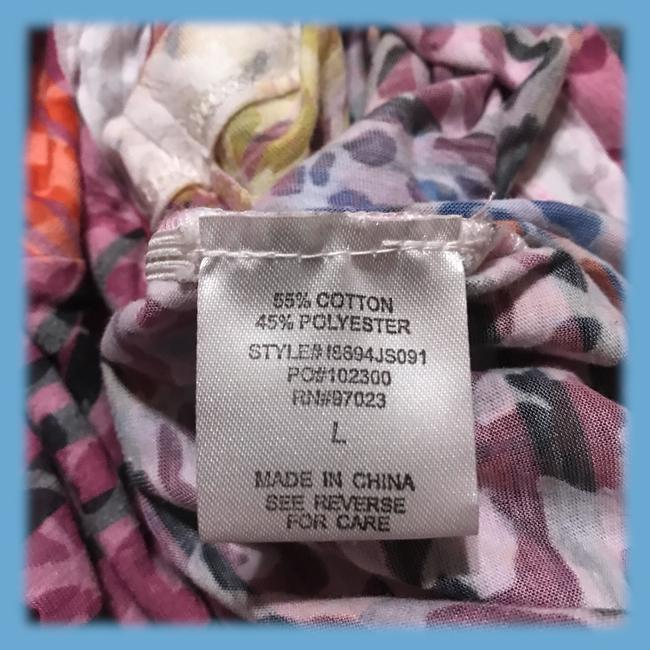 Pretty Rebellious Top Blue Pink Image 5