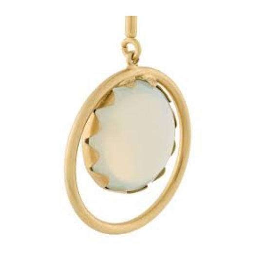 Tory Burch linear stone statement earring Image 1