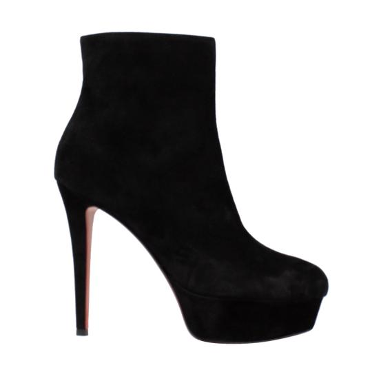 Christian Louboutin Suede Bianca Black Boots Image 2