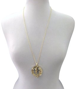 Generic Gold Finished Mermaid Design Pendant Necklace