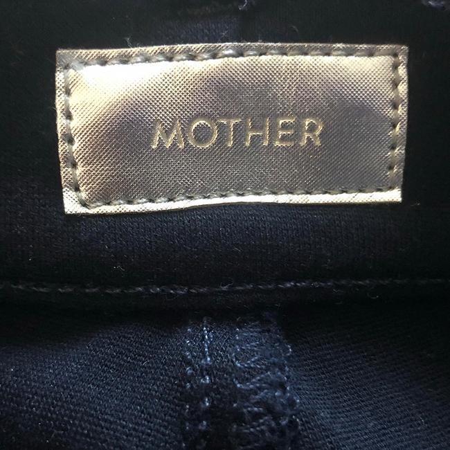 Mother Capri/Cropped Pants Navy & White Image 1