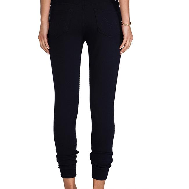 Mother Capri/Cropped Pants Navy & White Image 3