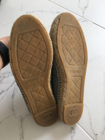 Chanel Green Mules Image 3