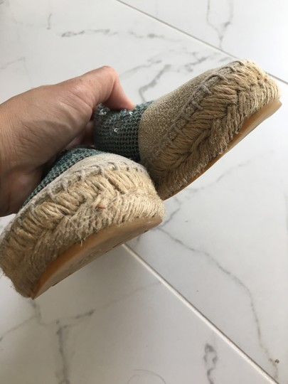 Chanel Green Mules Image 7