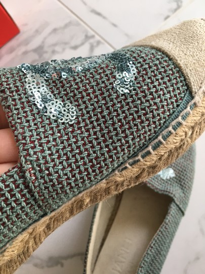 Chanel Green Mules Image 9