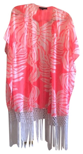 Club Z. Collection Tropical Swim Coverup Image 0