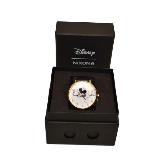 Nixon D I S N E Y Arrow Leather MICKEY Mouse watch A1091 3095 Image 5
