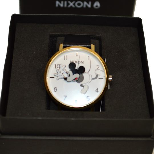 Nixon D I S N E Y Arrow Leather MICKEY Mouse watch A1091 3095 Image 7