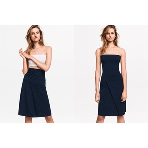Wolford Convertible Tube Dress Summer Summer Skirt Deep Blue