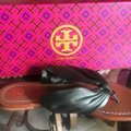 Tory Burch Olive Green Sandals Image 3