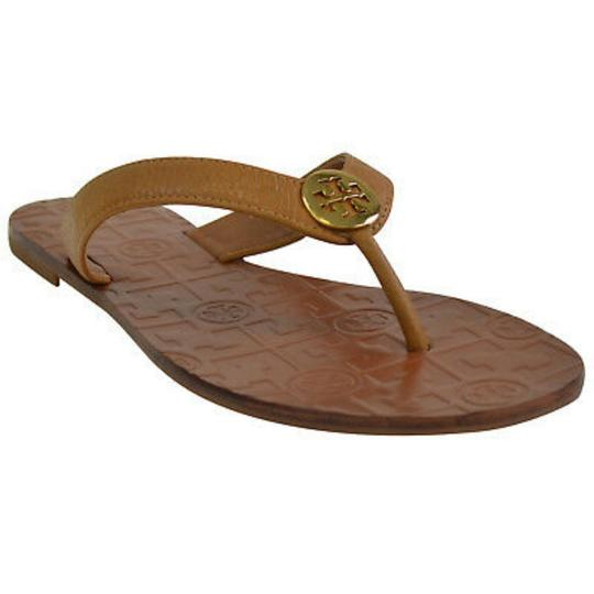 Preload https://item2.tradesy.com/images/tory-burch-tan-thora-leather-thong-sandals-size-us-6-regular-m-b-25404031-0-2.jpg?width=440&height=440