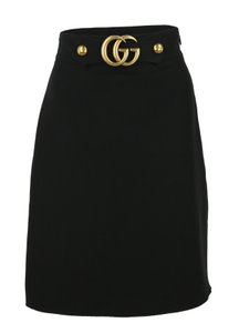 Gucci Double G Skirt Black