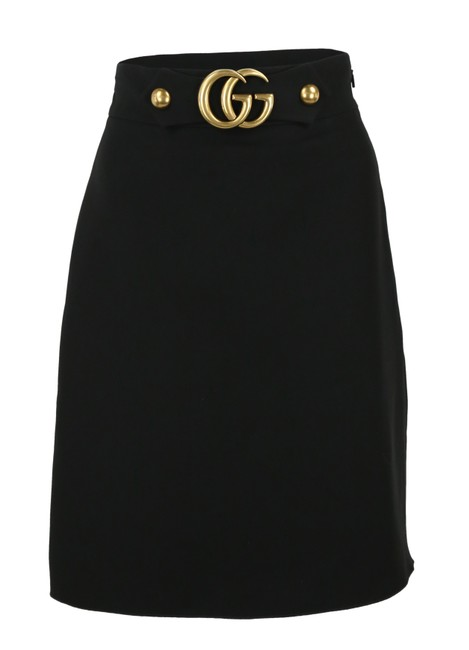 Gucci Double G Skirt Black Image 0