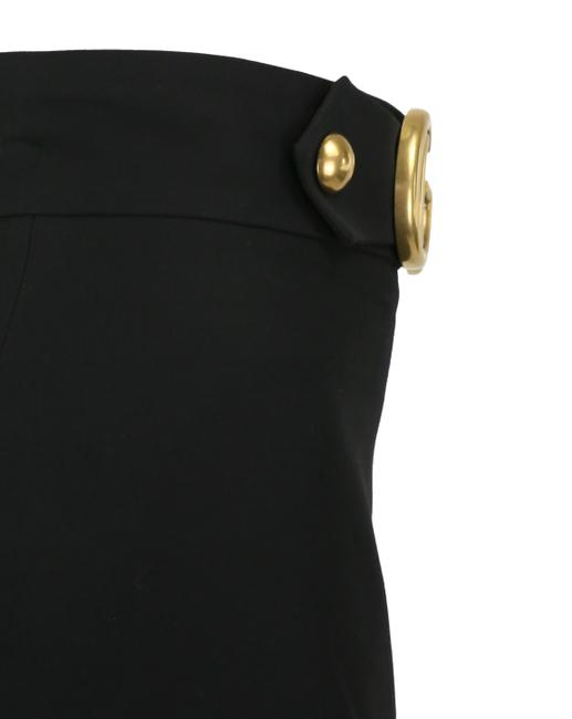 Gucci Double G Skirt Black Image 4