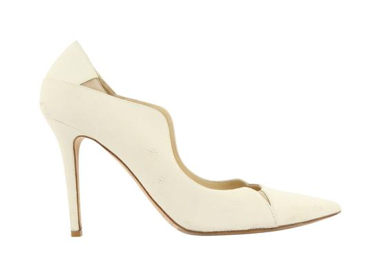 Jimmy Choo Off-white Karung Tamika White Pumps Image 0