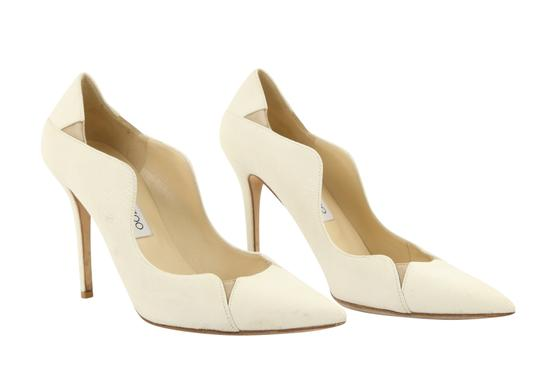 Jimmy Choo Off-white Karung Tamika White Pumps Image 1