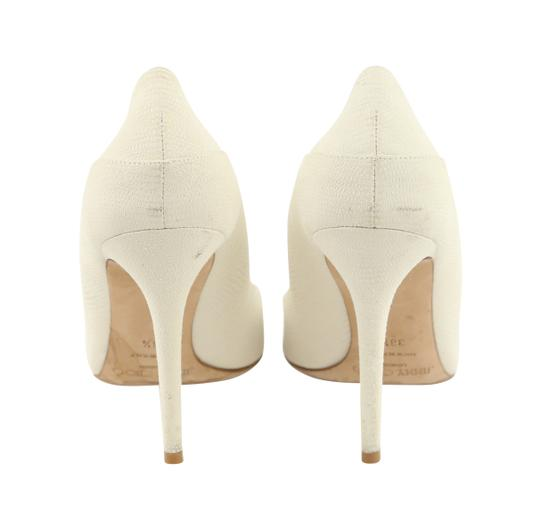 Jimmy Choo Off-white Karung Tamika White Pumps Image 3