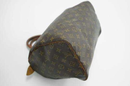 Louis Vuitton Speedy Purse Lv 30 Tote in Brown Image 9