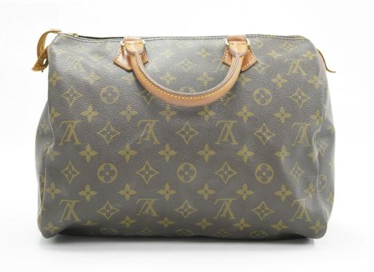 Louis Vuitton Speedy Purse Lv 30 Tote in Brown Image 1