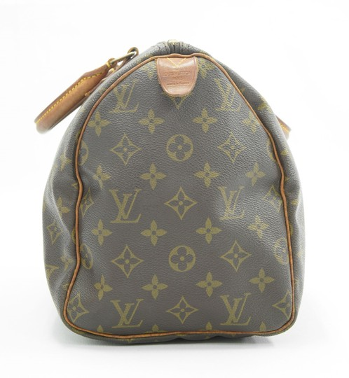 Louis Vuitton Speedy Purse Lv 30 Tote in Brown Image 4