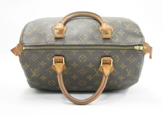 Louis Vuitton Speedy Purse Lv 30 Tote in Brown Image 6