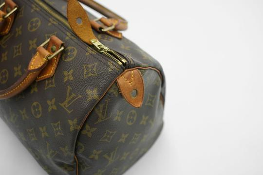 Louis Vuitton Speedy Purse Lv 30 Tote in Brown Image 7