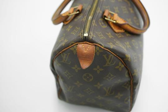 Louis Vuitton Speedy Purse Lv 30 Tote in Brown Image 8