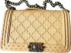 Chanel Quilted Great Condition Le Boy Cross Body Bag
