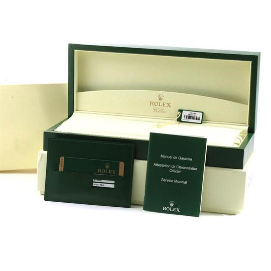 Rolex Rolex Cellini Classic 18k White Gold Ladies Watch 6110 Box Card Image 11