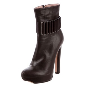 Hervé Leger Brown Boots