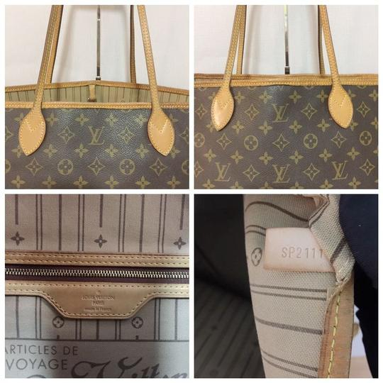 Louis Vuitton Lv Neverfull Gm Neverfull Monogram Neverfull Gm Canvas Lv Neverfull Canvas Tote in Brown Image 11