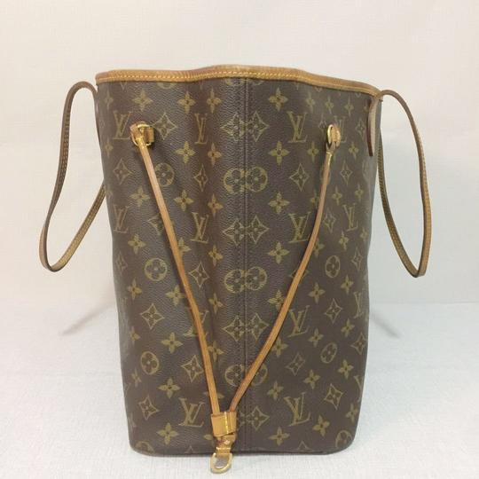 Louis Vuitton Lv Neverfull Gm Neverfull Monogram Neverfull Gm Canvas Lv Neverfull Canvas Tote in Brown Image 2