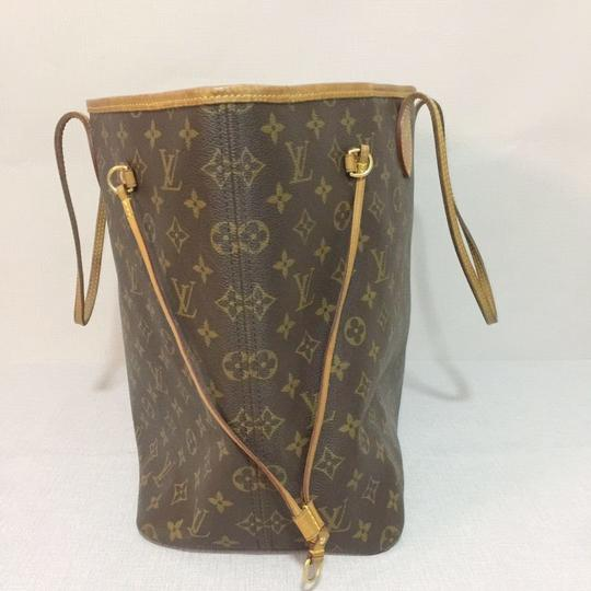 Louis Vuitton Lv Neverfull Gm Neverfull Monogram Neverfull Gm Canvas Lv Neverfull Canvas Tote in Brown Image 3