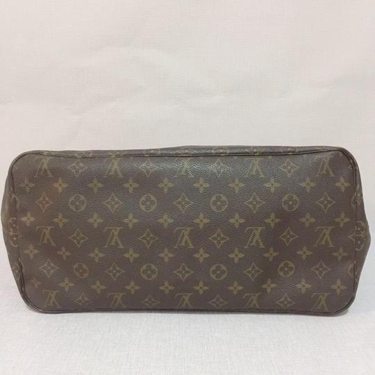 Louis Vuitton Lv Neverfull Gm Neverfull Monogram Neverfull Gm Canvas Lv Neverfull Canvas Tote in Brown Image 4