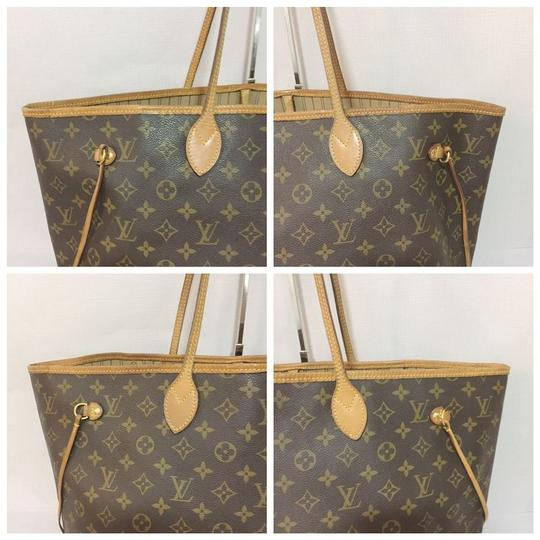 Louis Vuitton Lv Neverfull Gm Neverfull Monogram Neverfull Gm Canvas Lv Neverfull Canvas Tote in Brown Image 5