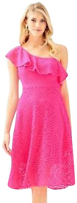 Preload https://img-static.tradesy.com/item/25404394/lilly-pulitzer-pink-callisto-lace-mid-length-cocktail-dress-size-00-xxs-0-1-650-650.jpg